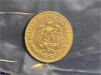 1945 Dos Gold Peso