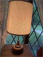 "Mid Century Lamp  28.5"" high"