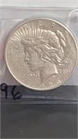 1926 D Silver Peace Dollar Coin