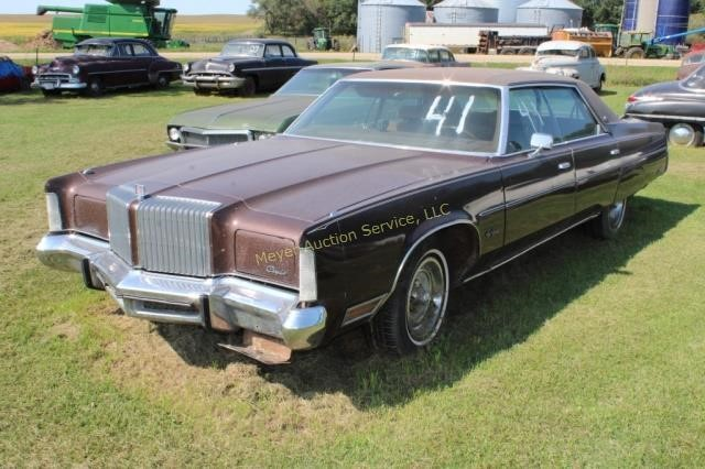 9/27 Paul Nelson Classic Car Online Only Auction
