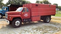 1989 Ford F700 5 Speed 111,611 Miles VIN