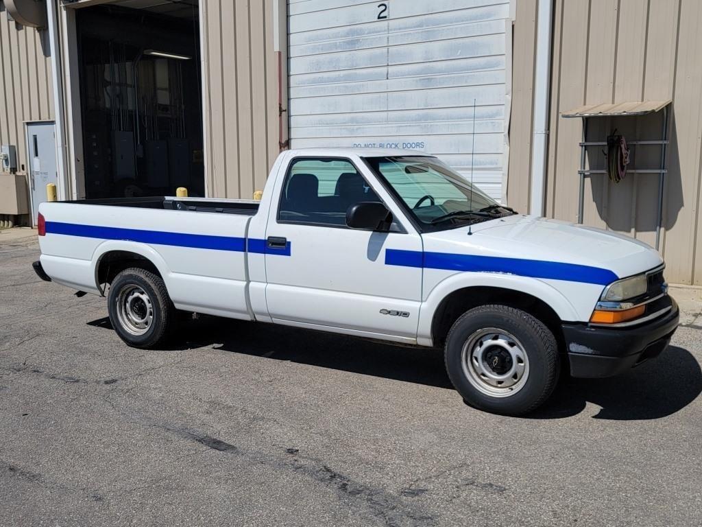 2000 Chevrolet S10, Automatic, 4.3 Liter Gasoline