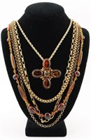 1960s-70s Necklaces. Miriam Haskell