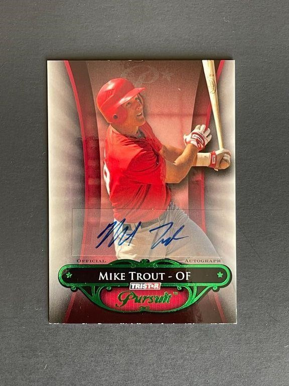 Sports Card Auction Mike Trout Auto RC+ More!!