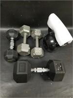 Hand Weights & Kettle Bell