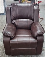Leather Style Like New Recliner