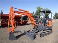 2013 Kubota KX91-3S2 Hydraulic Excavator