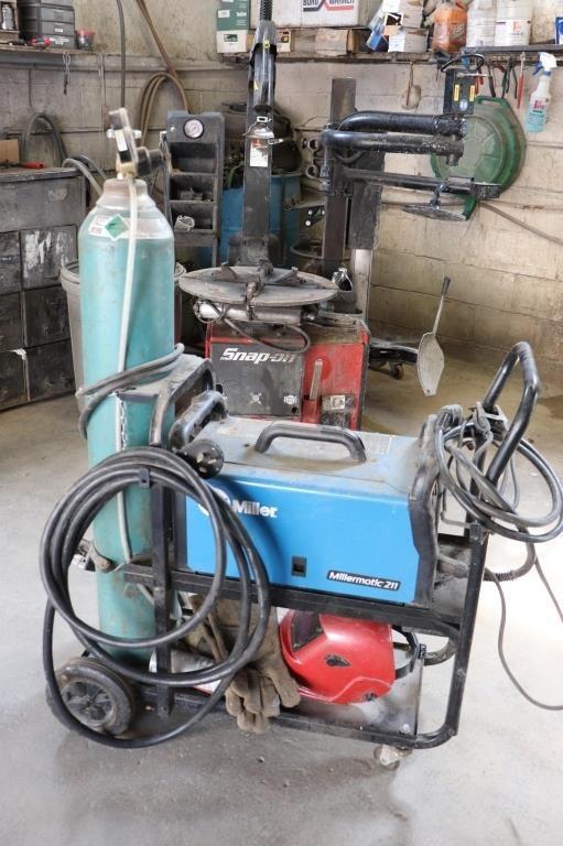 Millermatic 211 MIG welder