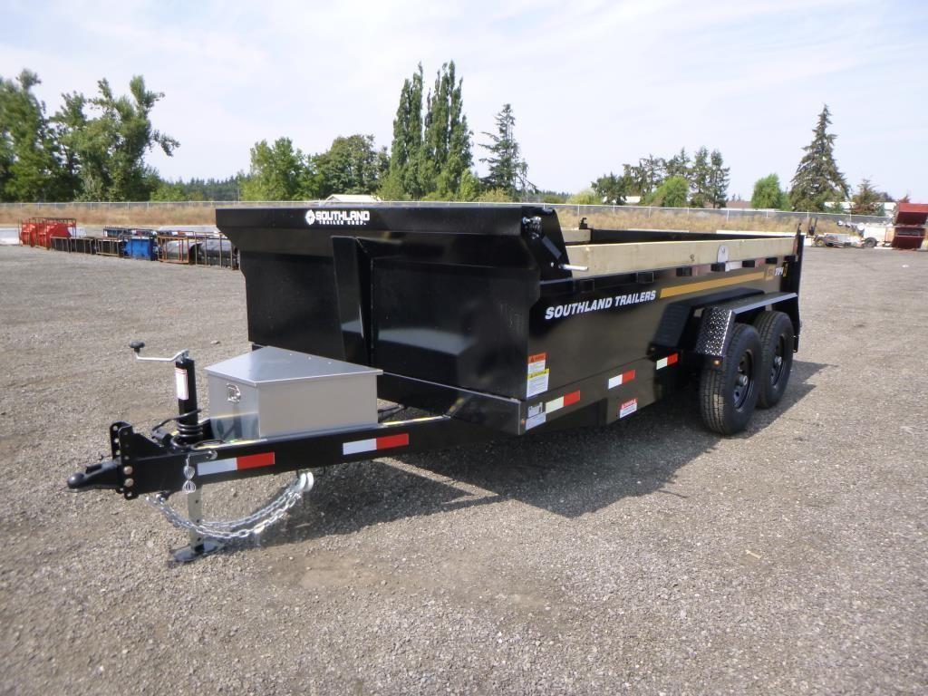 2022 Southland SL714-14K T/A Dump Trailer