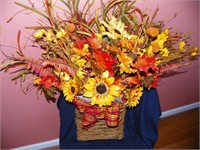 Fall Wreath - Made by Denise Lindsey