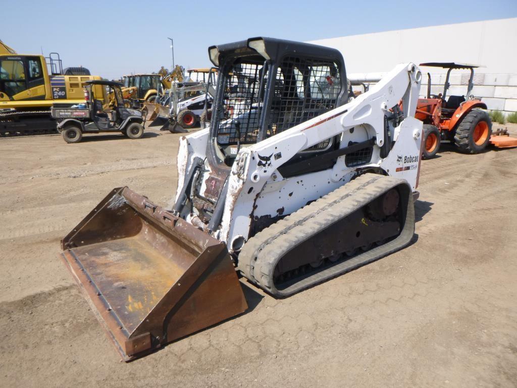 2012 Bobcat T750 Skid Steer Track Loader