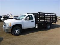 2013 Chevrolet 3500 Flatbed Truck
