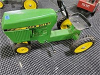 John Deere Ride On Pedal Tractor Toy,
