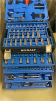 Kobalt ratchet and wrench set with attachments