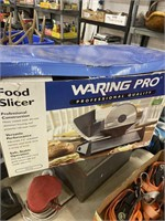 Waring  Pro food slicer new in the box