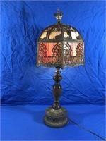 SLAG LAMP HOMESTEAD SCENE