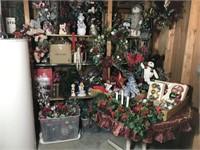 CHRISTMAS DECORATIONS LOT #1