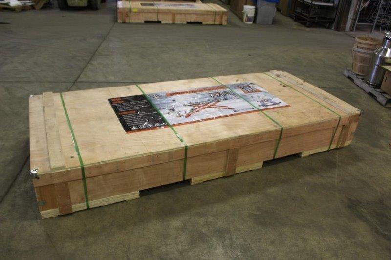 TMG Industrial 6000lb Scissors Car Lift -Unused-