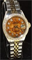 Oyster Perpetual Rolex Lady Datejust 26 w/Diamond