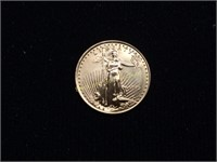 1995 American Eagle $10 1/4oz. Gold