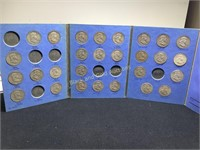 1948-1963 Benjamin Franklin half dollar set