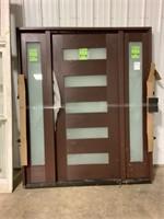 Exterior Entry Door w/ Side Lites