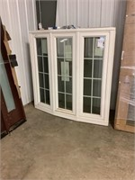 5' Double Operating Casement Bow Window