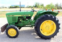 Lot 5001,  JD Tractor - Absentee bidding available on this item.  Click catalog tab for more pics, video & info.