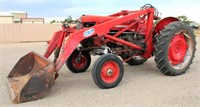 Lot 5002,  MF Tractor - Absentee bidding available on this item.  Click catalog tab for more pics, video & info.
