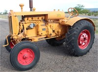 Lot 5004,  MM Twin City Tractor - Absentee bidding available on this item.  Click catalog tab for more pics, video & info.
