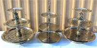 Catering Equip - SS Tiered Serving Trays