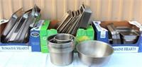 Catering Equip - Misc SS Pieces, Lids, Bowls, Pans, Etc