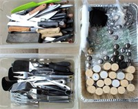 Catering Equip- Serving Utensils, Knives, S & P Shakers