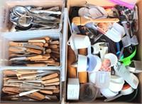 Catering Equip- Serving Utensils, Spoons, Steak Knives, Measuring Cups, Etc