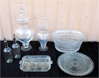 Catering Equip- Glass Serving Pieces