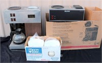 Catering Equip- Bunn Coffee Brewers (1 is new, 1 needs to be cleaned)