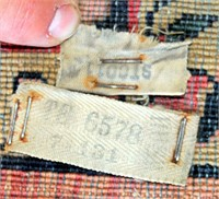#2 Vintage Rug (view 4/tags on back side)