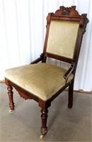Vintage Victorian Eastlake Chair