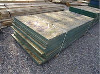 Stack Of OSB Sheets