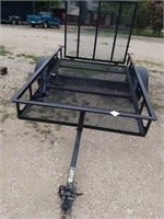"""2020 CARRY ON TRAILER, 64"""" X 100"""", GREAT SHAPE,"""