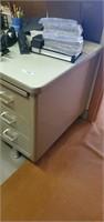 Metal office desk. Desk only.  Office supplies