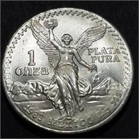 1983 MEXICO LIBERTAD - GEM BU .999 1 OZT AG