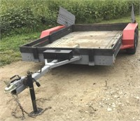 1988 Utility Trailer - 10ft X6ft With Title