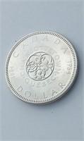 High Grade 1964 Canada Silver Dollar