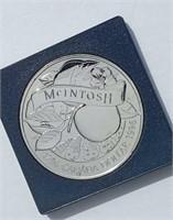 1796-1996 Canada McIntosh Silver Dollar