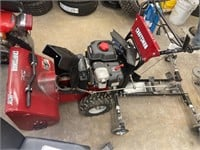 """Craftsman 24"""" Electric Start Two-Stage Snow Blower"""