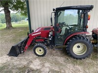 Yanmar YT235 tractor with loader
