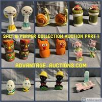 Vintage Salt & Pepper Shaker Collection