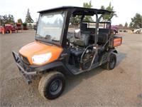 2016 Kubota RTV-X1140 4x4 Utility Cart