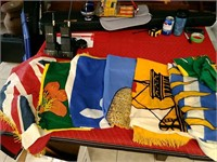 Huge Lot of assorted Flags
